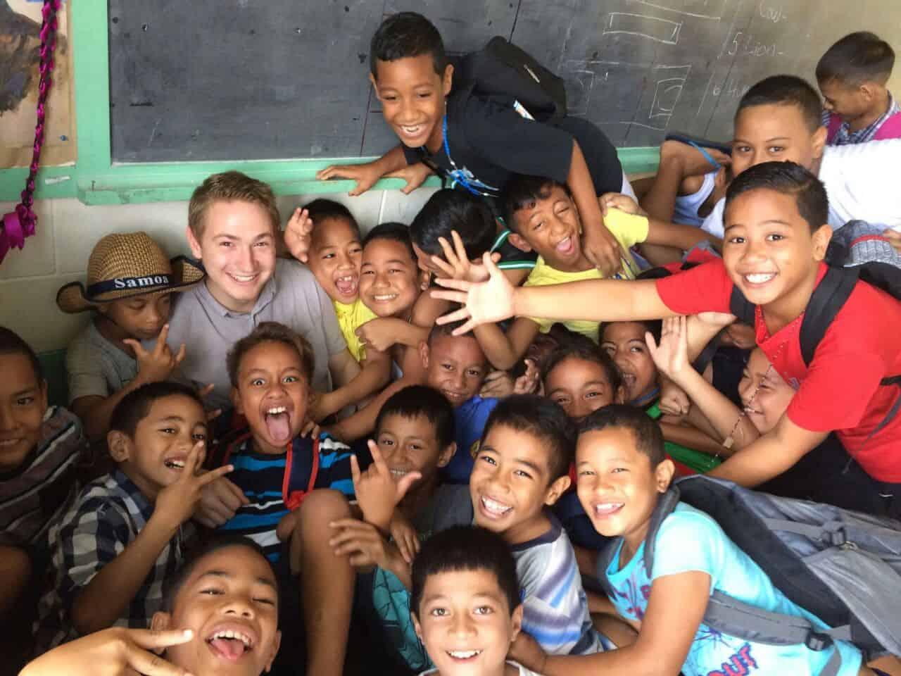 Bedeutung von Mission auf Samoa Jonas